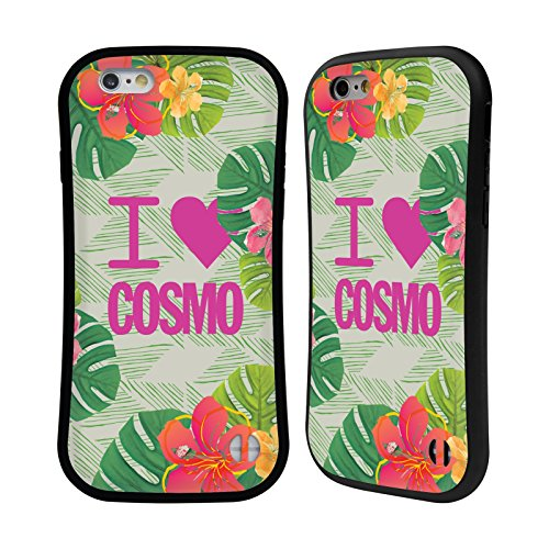Official Cosmopolitan I Heart Tropical Hybrid Case for Apple iPhone 6 / 6s