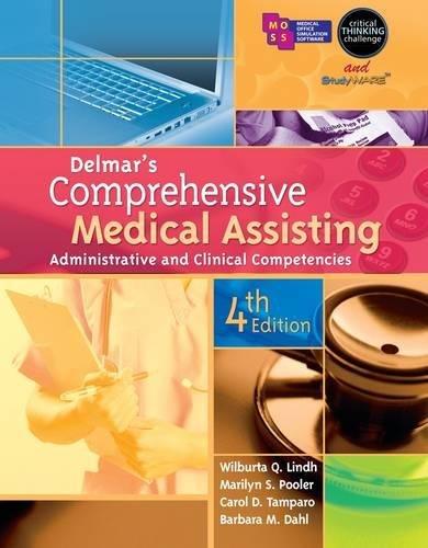 Delmar's Comprehensive Medical Assisting: Administrative and Clinical - Ca Delmar