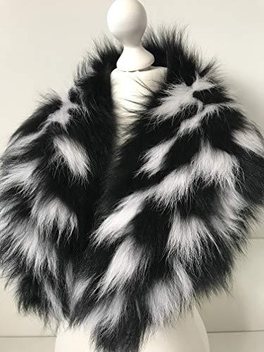 Large Collar Scarf Fur arctic fox from RizhikOva