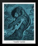 The Shape of Water 28x40 Large Black Wood Framed Movie Poster Art Print