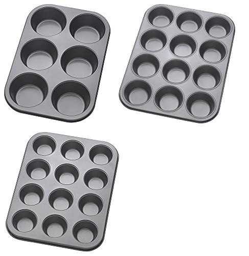 Ann Clark Cookie Cutters Mrs. Andersons Baking Silicon Loaf Pan Bread - Fluted Cake Pan and Muffin Top Pan