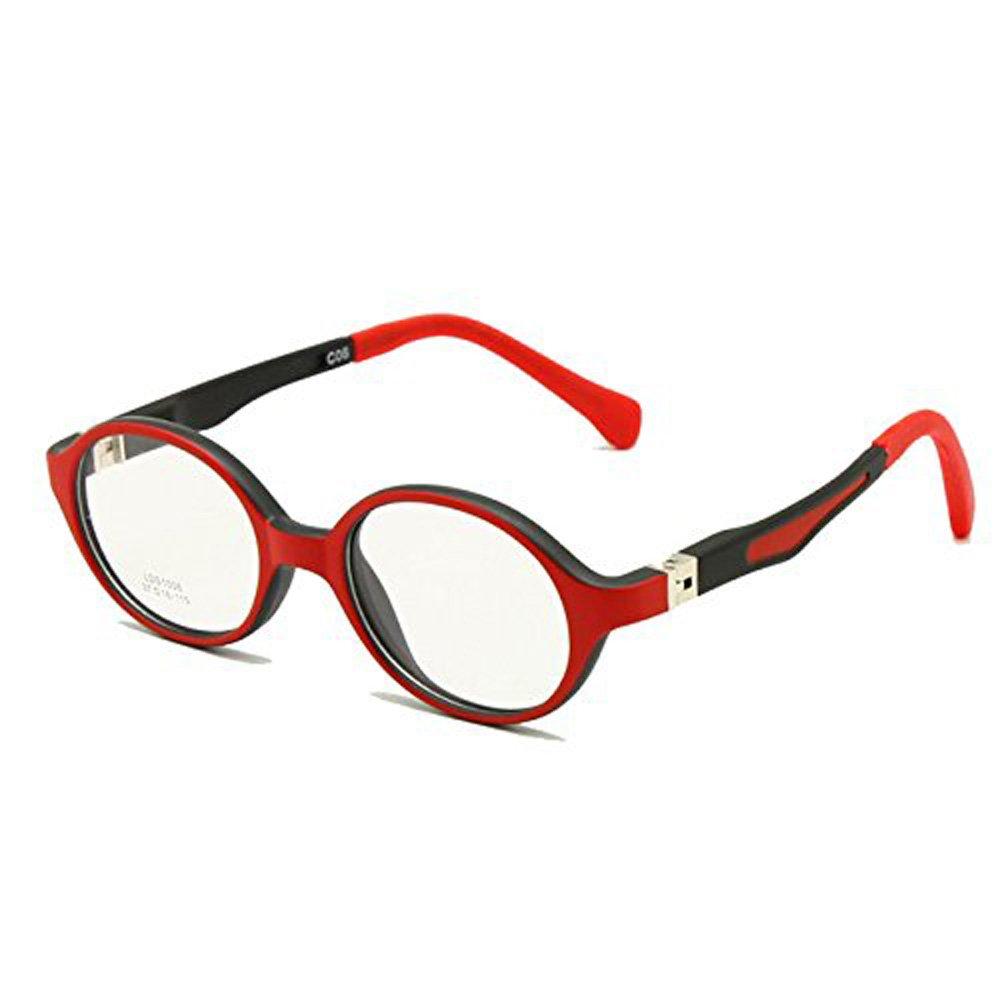 Baby Kleinkind Brillengestell TR90 Größe 37mm Safe Biegsamen Flexible Optische Kinder Kinder Brillen Klare Linsen Federscharnier LDS1008