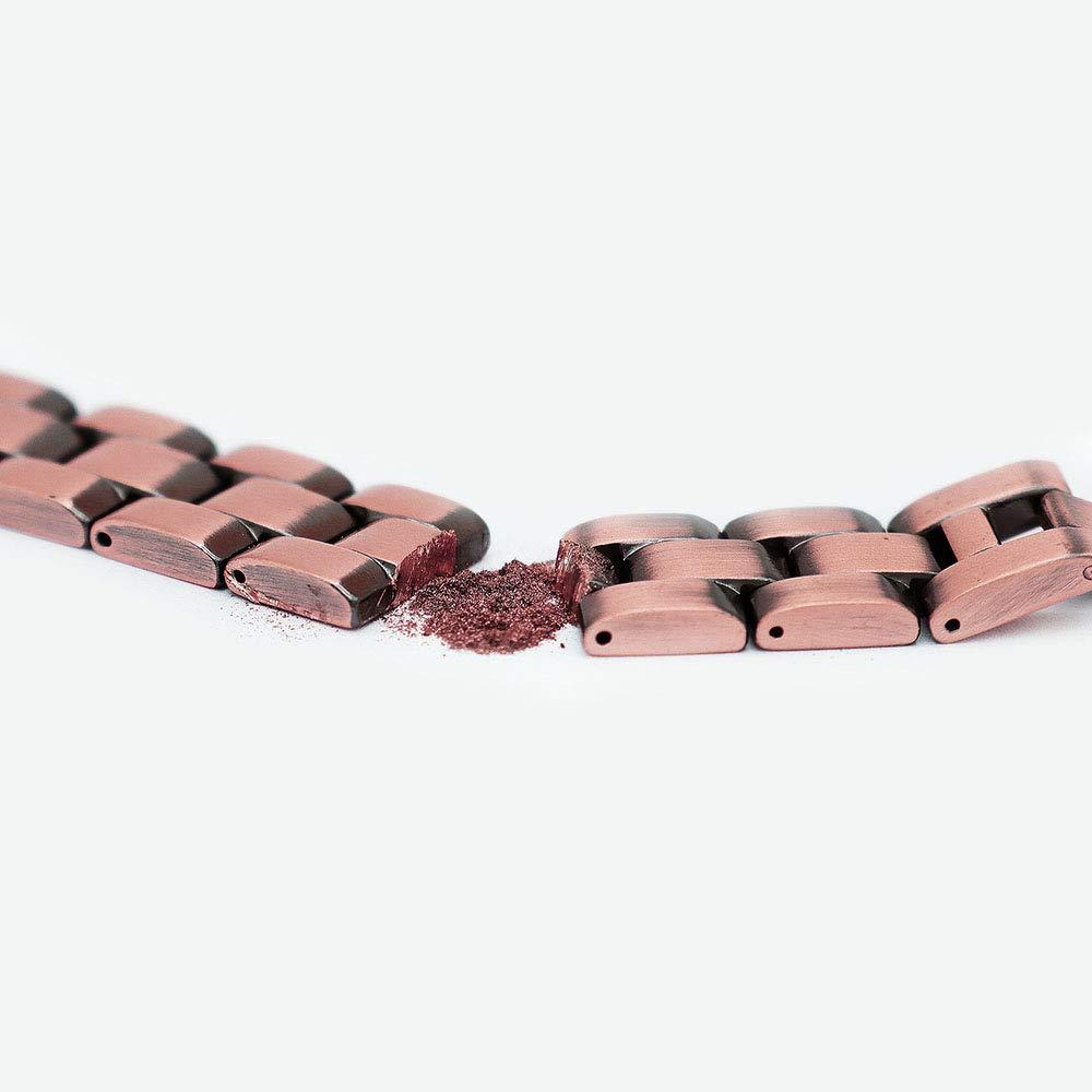 Suppression Jeroot Bracelet Magnetique,Bracelets Magn/étiques Sante Titaniques Cuivre GermaniumBracelets Magn/étiques Larthrite Magnetique Bracelet Homme Femme Anti Douleur Lien libre