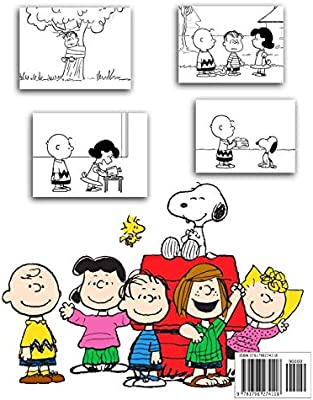 Charlie Brown and his Drooping Christmas Tree Coloring Page (With ... | 400x312