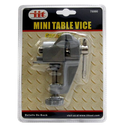 Mini Clamp On Table Bench Jewellers Hobby Craft Vice Tool