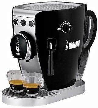 Bialetti CF37 Independiente Máquina espresso 2tazas Negro - Cafetera (Independiente, Máquina espresso, Dosis de café, De café molido, Negro): Amazon.es: ...