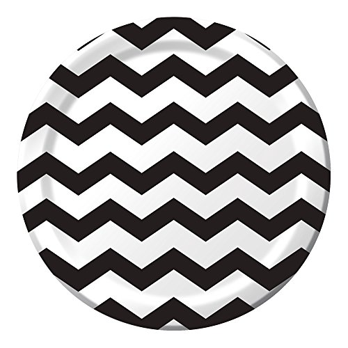 Creative Converting Celebrations 96 Count Chevron Paper Dinner Plates, 8.75