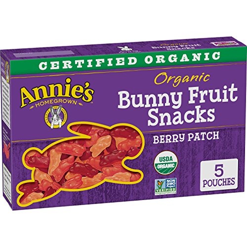 Best Deals! Annie's Homegrown Berry Patch Organic Fruit Snacks, 0.8 oz, 5 Count