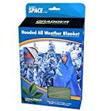 All Weather Blanket With Hood Green