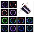 Dorras LED Bike Wheel Lights - Waterproof Bicycle Spoke Lights Safety Tire Lights - Great Gift for Kids Adults - 30 Different Patterns Change - Bike Accessories - Easy to Install