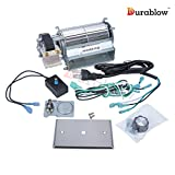 Durablow MFB005-A GFK21, FK21 Replacement Fireplace Blower Fan Kit for Heatilator, Majestic, Vermont Castings, Monessen, Heat n Glo, FMI, CFM, DESA, Rotom HB-RB21