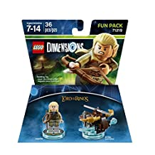 Warner Bros Lego Dimensions LOTR Legolas Fun Pack - Lord Of The Rings Legolas Fun Pack Edition