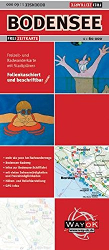 Freizeitkarte Bodensee: 1:60000