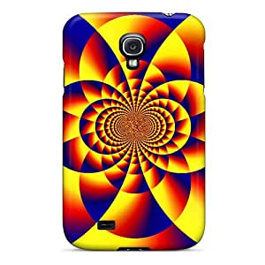 Awesome Design Pinwhell Hard Case Cover For Galaxy S4