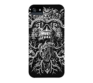 Aztec Skull iPhone 5/5s Black Barely There Phone Case - Design By Humans