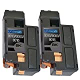 2 Replacement toner cartridges for Xerox 6010 Black Toner Cartridges replacement for Xerox 106R01630, Office Central
