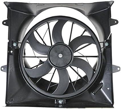 Ventilador de refrigeración para radiador 6 aspas para Jeep Grand ...