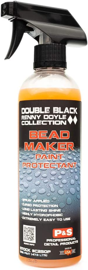 P&S Professional Detail Products - Bead Maker - Paint Protectant & Sealant; Easy Spray & Wipe Application, Cured Protection, Long Lasting Gloss Enhancement, Hydrophobic Finish, Great Scent (1 Pint)