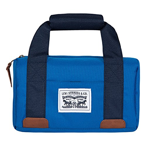 Levi's Boys' Mini-Duffle Lunch Tote Bag, Prinec Blue, O/S