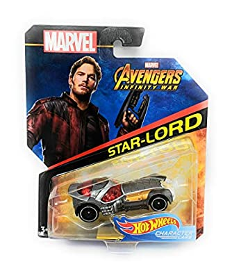 Hot Wheels Character Cars Star-Lord Marvel Avengers Infinity War