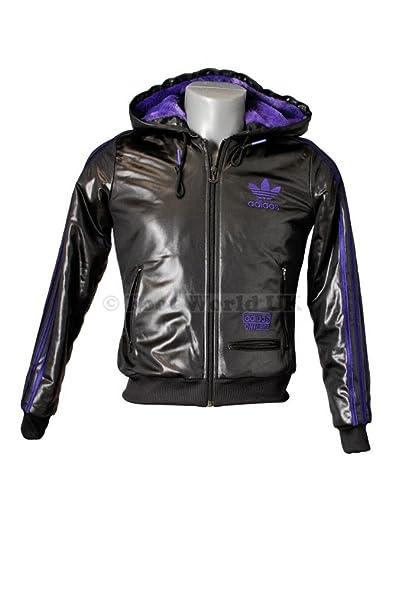 Adidas Womens - Chile 62 FZ Linned pelo patrones de costura para blusas chaqueta con capucha