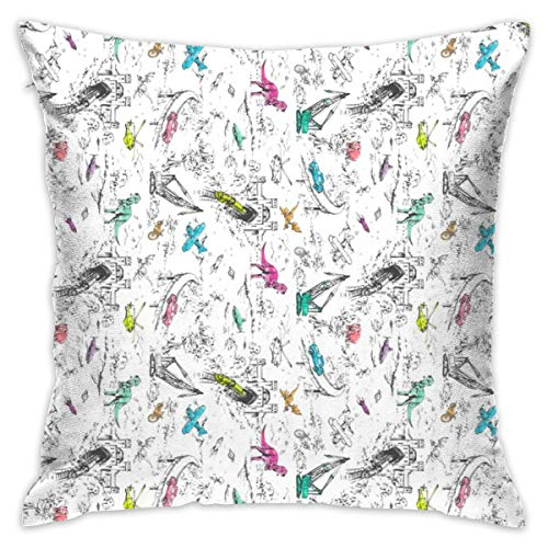 GIxilijie Adventure Toile POP Mini Pillow Cover 18