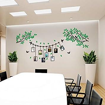 Hongrun Arte De Pared 3D De Acrílico Salón Dormitorio Comedor Sofá ...