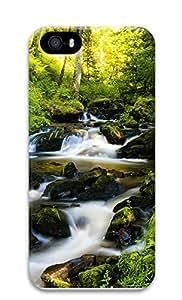 taoyix diy iPhone 5 5S Case Nature Black Forest 3D Custom iPhone 5 5S Case Cover