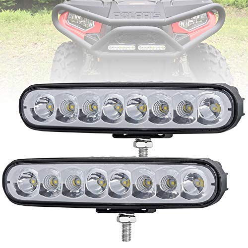 Liteway 2Pcs 7inch 40w CREE COMBO LED Work Light Bar Fog Lights Driving Lamp Off Road 4WD Worklamp, 1 Year Warranty