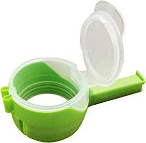 Bag Clips for Food Storage Pouring Spout,Bag Sealing Clamps for Kitchen Plastic Cap