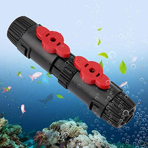 Aquarium Water Flow Control Valve, Fish Tank Hose Pipe Quick Release Connector Aquariums Filter Plastic Connector (12-16mm / 16-22mm)