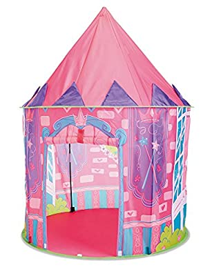 Kidoozie Princess Hideaway Playhouse with Front Door Flap and 1 Windows