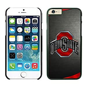 iPhone 6Plus Phone Case NCAA-BIG TEN Ohio State Buckeyes 41 Black TPU Cover Case For Apple iPhone 6plus 5.5 Inches
