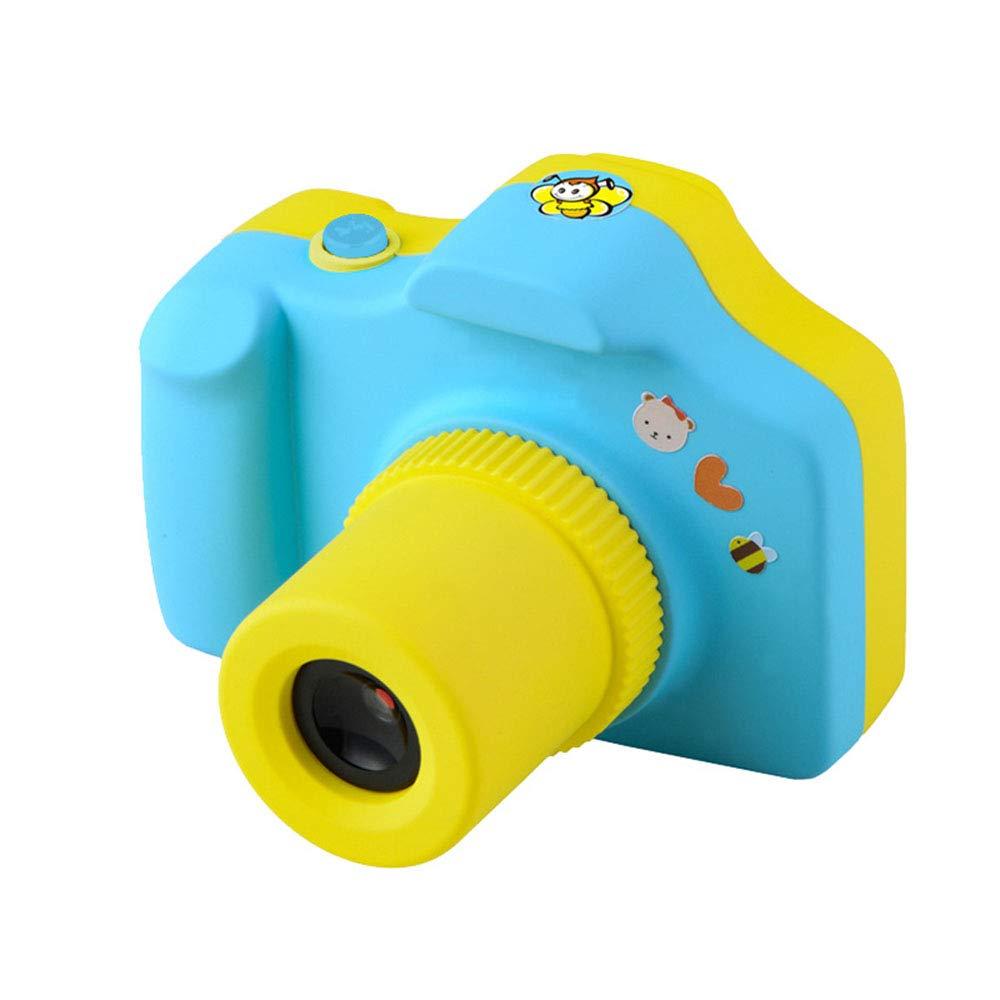Digitalkamera Mini 1,77 Zoll Bildschirm Kinderkamera Kind Geschenk (Farbe : Blau)
