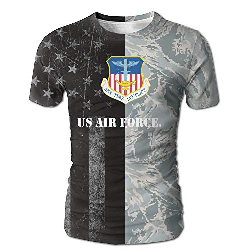 United States Air Force 1st Special Operations Wing Men's Casual Short Sleeve Tee Shirts White