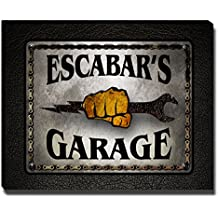 Escabar's Garage Mechanic Gallery Wrapped Canvas Print