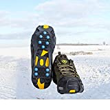 willceal Ice Cleats, Ice Grippers Traction Cleats