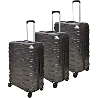 Magellan Hardside spinner luggage Set of 3 pieces -Grey