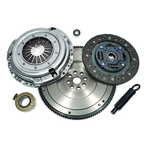 EFT CLUTCH KIT+HD FLYWHEEL 1995-2004 TOYOTA 4RUNNER TACOMA T100 TUNDRA 3.4L V6 (Flywheel Tacoma compare prices)