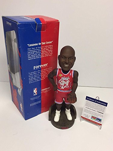 Shaq Shaquille O'Neal Signed Lakers NBA All Star Basketball Bobblehead - PSA/DNA Certified - Autographed NBA Figurines ()