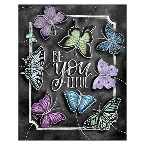 TWBB DIY 5D Diamond Painting Kit Diamond Painting Sets Full Drill Diamond Painting for Adult or Kid,10x12 (Butterfly Pattern)