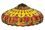 22 Inch W Colonial Tulip Shade , Shade Only , Meyda