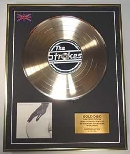 THE STROKES/Cd Disco de Oro Disco Edicion Limitada/CD GOLD DISC/ALBUM 'THIS IS IT'/(The Strokes)