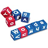 big letter a created resources foam numbered dice 20605