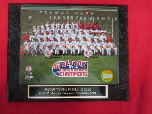 2007 Red Sox World Series Champions Collector Plaque w/8x10 TEAM PHOTO!