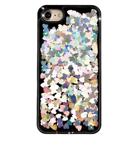 sequin-hearts-hard-case-for-iphone-7-silver