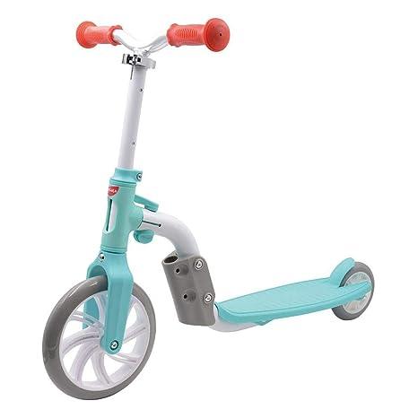 Lesgos - Patinete 2 en 1 para niños pequeños, Scoot and Sit ...