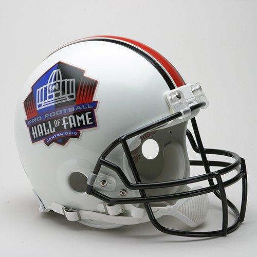 Pro Football Hall of Fame HOF Logo Riddell Full Size NFL Authentic Pro Football Helmet - New in Riddell Box