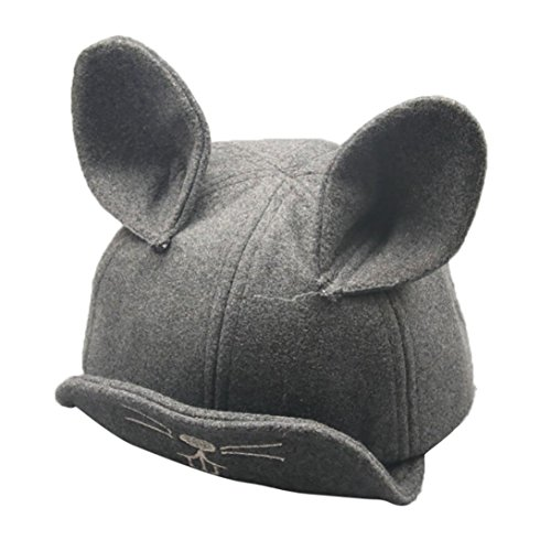 nacome-baby-boys-girls-winter-warm-rabbit-ears-cotton-hat-children-print-hats-gray
