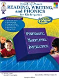 Month-by-Month Reading, Writing, and Phonics for Kindergarten: Second Edition